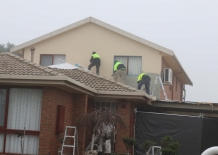 Installation of Polystyrene then Rendered